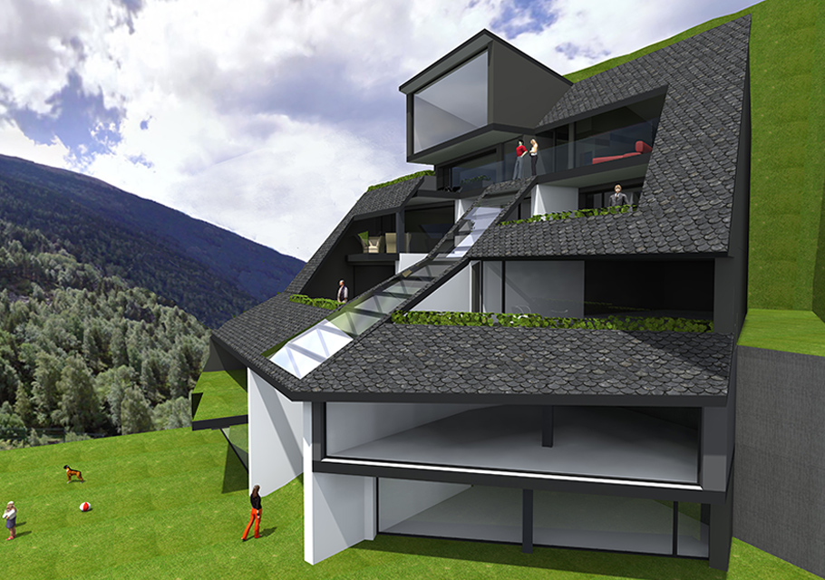 Edifici Plurifamiliar a Andorra - Apunt d'Arquitectura