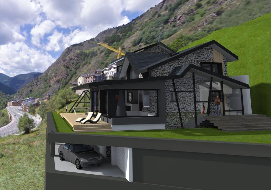 Reforma xalet a Andorra - Apunt d'Arquitectura
